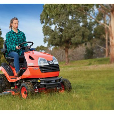 T Series ride on lawn mower kubota