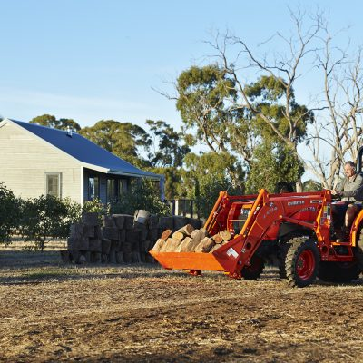 Kubota L Series tractor mid size